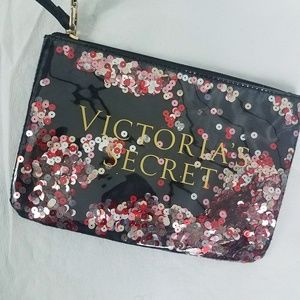 Victoria's Secret Clutch Wrist-Let Hand Bag Purse